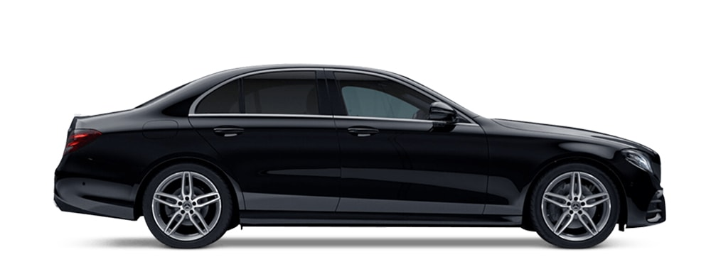 Mercedes black executive taxi Oxford