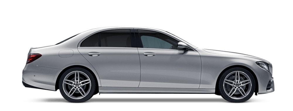 Mercedes silver executive taxi Oxford
