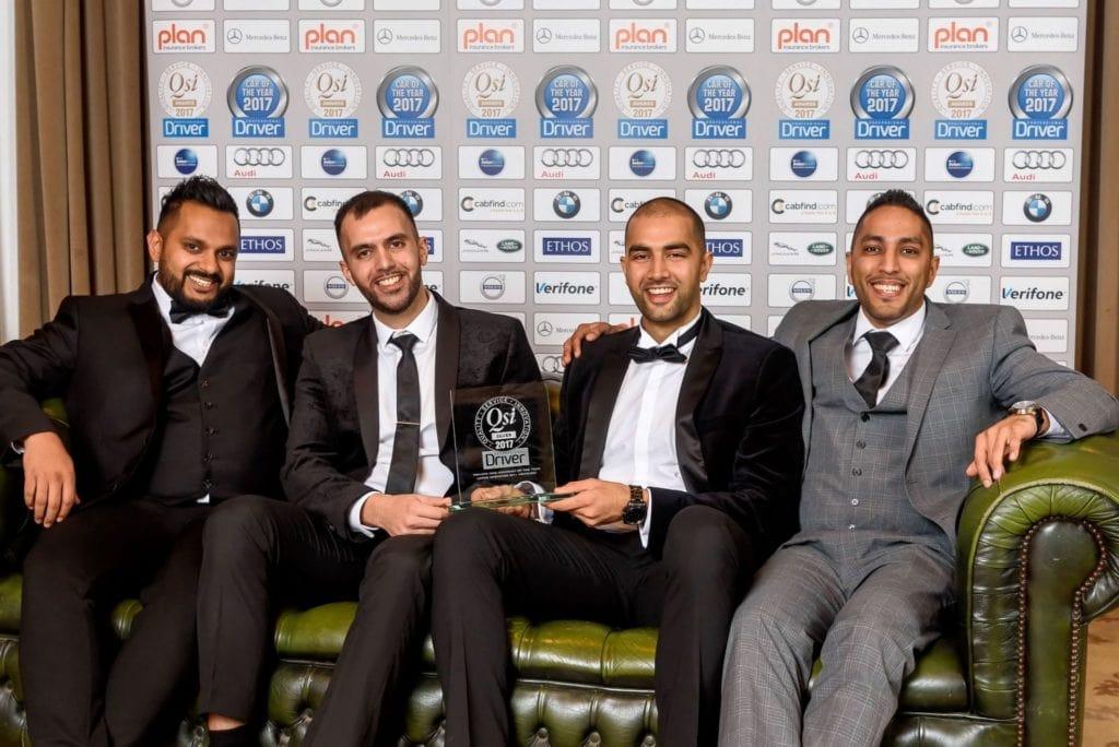 Royal Cars pro driver awards