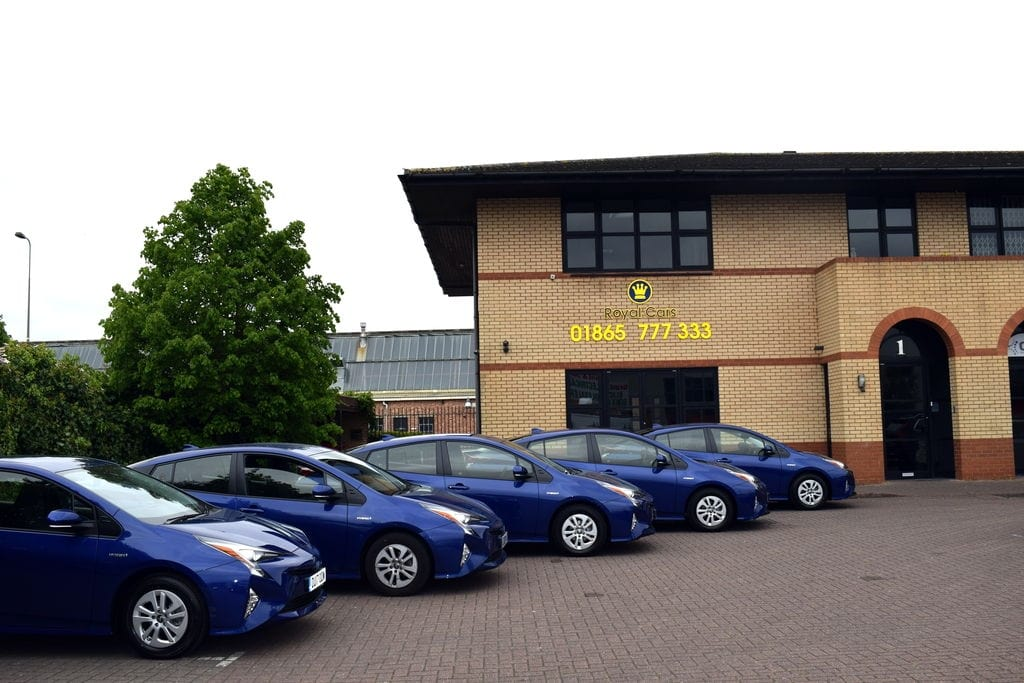 Oxford hybrid taxis